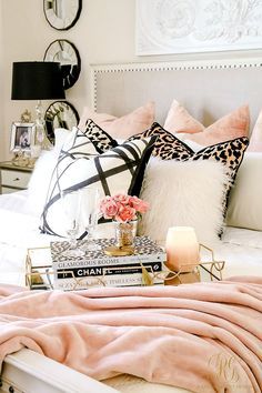 leopard pillows, pin