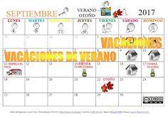 SUSANA Maestra de A.L.: Calendario mes de Septiembre