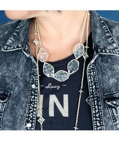Connely Necklace in Crackle Crystal - Kendra Scott Jewelry. Coming October 15!