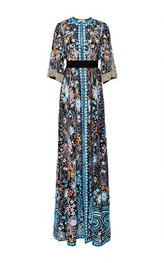 Star Embroidered Organza Evening Coat by NAEEM KHAN for Preorder on Moda Operandi