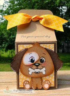 Gigi McKellips :: Face Day :: Doggone Cute Treat Box