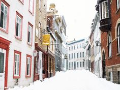 Photographic evidence as to why one must witness Quebec City in winter at least once in one's lifetime + helpful tips for planning a memorable trip. Old Quebec, Quebec City, Quebec Winter, Winter Songs, Canadian Travel, Canada, Street Photo, North America, Places To Visit
