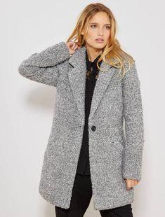 c84647a3c03bd Rebajas abrigos mujer | chaquetas largas | abrigos fluidos | moda Mujer  talla 34 a 48 | Kiabi