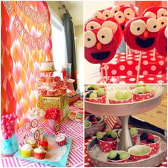 1st Elmo Birthday Party Ideas