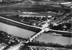 Roma dall'alto: Ponte Milvio (1912 ca)