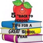"""5 """"Back to School"""" tips for a great school year"""