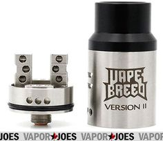 Vapor Joes - Daily Vaping Deals: CLOUDS: VAPE BREED COMPETITION V2 STYLED RDA - $8....