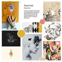 Who loves the save tab in Instagram? I sure do!! Here's a few of my recent faves in moodboard form! Tap the image to check out these incredible artists & designers!