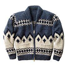 View the Cowichan Mountain Zip-up Sweater