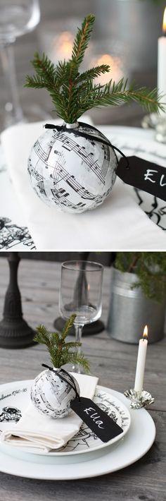 DIY+Craft+Ideas | Winter Wedding DIY - Craft Ideas