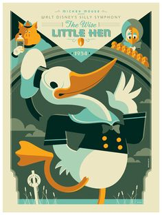 ✶ Donald Duck ✦ The Wise Little Hen❗️ ⚓️★