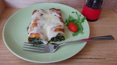Diary of a Homemaker: Spinach and Ricotta Cannelloni Recipe