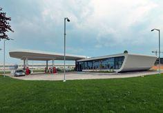 gas station design