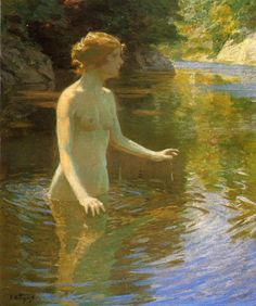 Enchanted Pool  Edward Potthast