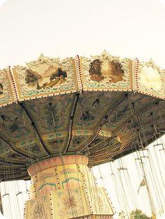 vintage carousel ride