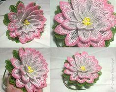 Представляю Вашему вниманию мастер-класс по плетению цветка лотоса из бисера. фото 1