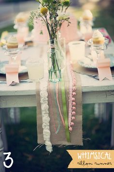 #Ribbon #table #runner