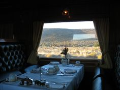 All Aboard the Luxury Train… Don't see yourself riding on the gauTRAIN? It's OK, ride a luxury train! There are several excellent luxury train rides you can take in South Africa; from Cape Town to Pretoria or to the majestic Victoria Falls in Zimbabwe, the Okavango Delta or the Kruger National Park. Picture: Rovos Rail Deluxe Suite. The golden age of luxury train travel has been renewed featuring vintage wood-paneled carriages pulled by a variety of engines (incl steam).