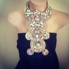 Mimmi & Kinki Statement Necklace - 40% off for a limited time at the Groupon of Etsy, the Buzz Republic!