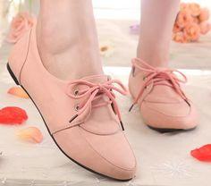 England style fashion vintage lie fallow flat women shoes QZ-JX12-62 apricot