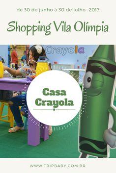 Casa Crayola no Shopping Vila Olímpia - TripBaby & Kids