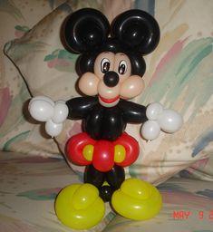 COMO HACER A MICKEY MOUSE (EN UN SOLO TUTORIAL). HOW TO MAKE A MICKEY MO...