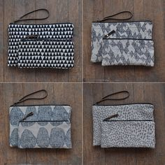it was a long time coming and it seemed so obvious, so I finally sell the large flat pouches  with a wristlet making it more versatile,...