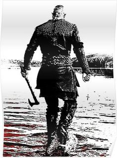"Travis Fimmel stars as Ragnar Lothbrok in ""The Vikings"" (History Channel - Ragnar Lothbrok Vikings, Lagertha, Vikings Travis Fimmel, Travis Fimmel Vikingos, Vikings Show, Vikings Tv Series, Tattoo Avant Bras, King Ragnar, Ragnar Lothbrook"