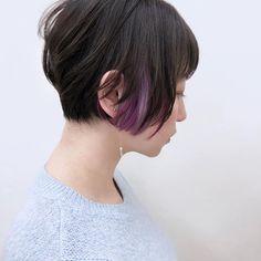 Winter Instagram, Hair Goals, Girl Hairstyles, Locks, Hair Cuts, Hair Color, Purple, My Style, Hair Styles