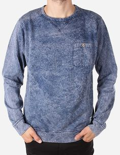 iriedaily - Vintage Pocket Crew navy wash