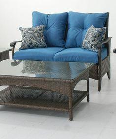 Look at this #zulilyfind! Lanai Five-Piece Outdoor Seating Set by Terrace Living #zulilyfinds