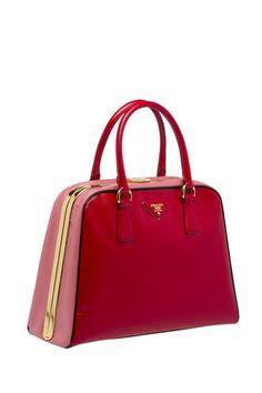 Prada Pyramide Bag Spring 2012 - burdeos handbags http://yourbagyourlife.com/