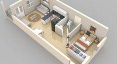 40 Amazing Studio Apartment Layout Inspirations You Might Try Studio Apartments, Studio Apartment Layout, Ux Design, House Design, Interior Design, Layout Inspiration, Furniture Inspiration, Designer, Furniture Design