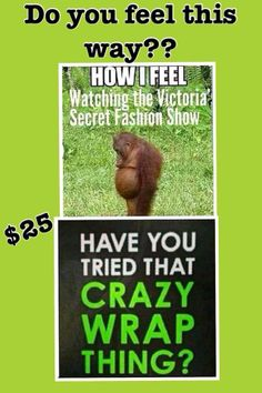 I can help you with this Crazy Wrap Thing! Get your sexy back with the It Works! Wrap! kelseycarmichael.myitworks.com