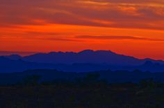 a mountain tucson sunset - Google Search