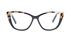 Love getting all dolled up? With their bold cateye shape, these large frames will flawlessly succeed to express your delightful fancy and feminine side.