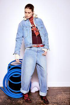 Isabel Marant etoile fall/winter '16 Corby jeans blue @wendelavandijk_store