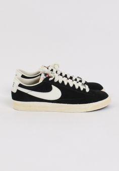 Nike - Blazer Low Prm, Black