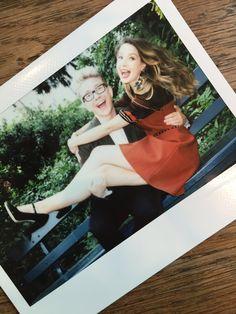 Zoella and tylerrr Youtubers, Sugg Life, Zoe Sugg, Polaroid Pictures, Tyler Oakley, Zoella, Friend Photos, Polaroid Film, People