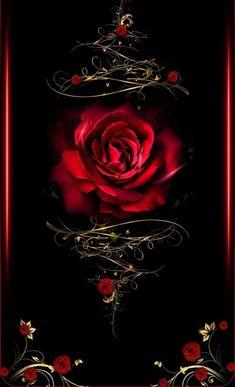 Beautiful tattoo idea of this Rose design