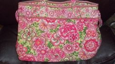 'Fabulous! Vera Bradley,X-LargeTote! CutePinks.12x15!' is going up for auction at  8am Tue, Mar 26 with a starting bid of $4.