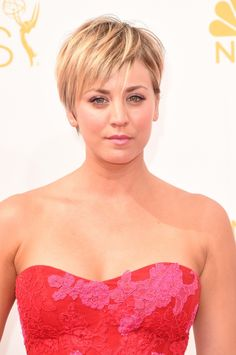 big bang theory penny's haircut | Kaley Cuoco Short Hair