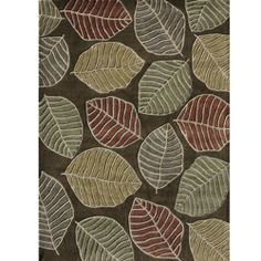 Hand-tufted Chalice Brown/ Multi Floral Rug (7'9 x 9'9)
