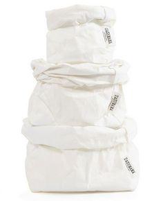 Sac en Papier Lavable blanc - Uashmama - Petite Lily Interiors