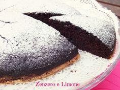TORTA MATTA   CRAZY CAKE   ricetta senza burro nè uova   Zenzero e Limone