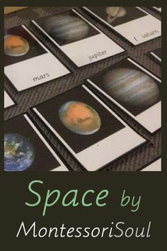 Free Space Printables from MontessoriSoul