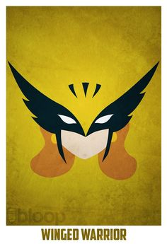 And another Andres Romero's minimalist superheroes poster series