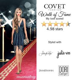 Walk of Fame @covetfashion #covet #covetfashion #covetfashionapp #fashion #covetfall2015 #fall2015 #womensfashion #shoesofprey #zimmermann #kotur #franceluxe #doricsengeri