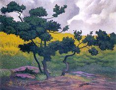 Landscape - Felix Vallotton