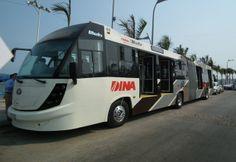 Autobuses modernos